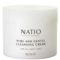 Crema limpiadora Pureza y Suavidad de Natio(100 g)