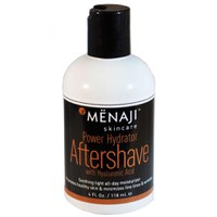 Menaji Puissance Hydrator Aftershave avec acide hyaluronique (4oz./118ml)
