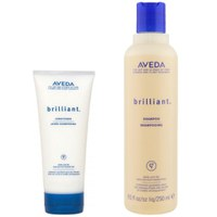 Aveda Pflege Duo für Haarglanz Brilliant Shampoo & Conditioner