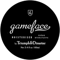 Tube de crème hydratante Gameface de Triumph & Disaster 100 ml