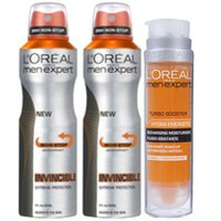Invincible 96 Hours Bundle de L'Oreal Paris Men Expert