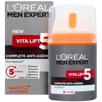 Vita Lift 5 Daily Moisturiser de L'Oreal Paris Men Expert (50ml)