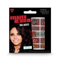 Elegant Touch Little Mix faux ongles nail art - Jesy Nail Wraps