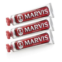 Marvis Cinnamon Mint Tannkrem Triple Pack (3 x 75 ml)