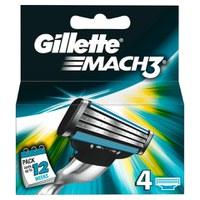 Gillette Mach3 鋒速系列3層剃鬚刀片(4副)