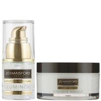Illuminoil mini (15ml) y mascarilla intensiva Jo Hansford Expert Colour Care