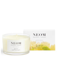 NEOM Happiness Scented Travel Candle