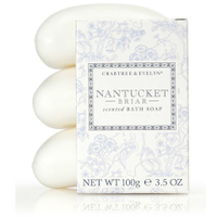 Crabtree & Evelyn Nantucket Briar Soap Set (incluye 3 jabones) (300 g)
