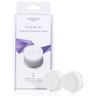 Magnitone London Silk Bliss Replacement Brush Heads with SkinKind™ Bristles (2가지 제품 세트)