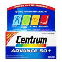 Centrum Advance 50 Plus (60 tabletter)