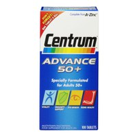 Centrum Advance 50 Plus (100 comprimés)