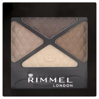 Rimmel Glam Eyes Quad Ombre à paupières - Smokey Brown