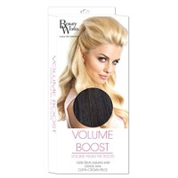 Extension de cheveux Volume Boost de Beauty Works - 1B Ébène