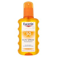 Eucerin® Sun protection solaire spray transparent 50 haute (200ml)