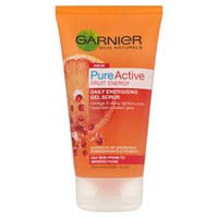 Gel exfoliante tonificante Skin Naturals Pure Active de Garnier (150 ml)