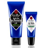 Jack Black Lip Balm Mint and D. Duty Moisturizer 44ml