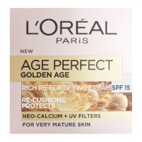 L'Oréal Paris Age Perfect Golden Age Rich Refortifying Cream - SPF15 (50 ml)