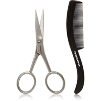 Tweezerman G.E.A.R. Moustache Scissors & Comb