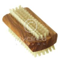 Hydrea London Olive Wood Nail Brush - Large