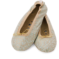 Holistic Silk Massaging Slippers - Jade - S