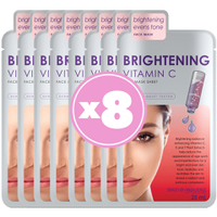 Skin Republic Brightening Vitamin C Sheet Face Mask Gift Pack