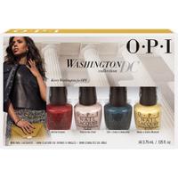OPI Washington Collection Nail Varnish Mini Pack - 4 Pack