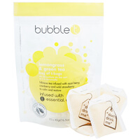 Bubble T Bath Infusion T-Bags - Lemongrass & Green Tea 10 x 40 g
