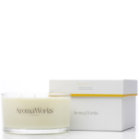 AromaWorks Serenity 3 Wick Candle