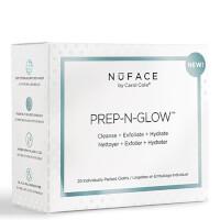 Салфетки для очищения, отшелушивания и увлажнения кожи NuFACE Prep-N-Glow Cloths