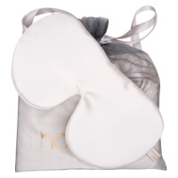 Holistic Silk Anti-Ageing Eye Mask Pillow Case Gift Set - White