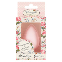 The Vintage Cosmetics Company Teardrop Blending Sponge Infused with Vitamin E - Pink