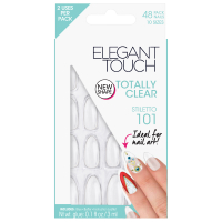 Elegant Touch Totally Bare Nails - Clear Stiletto 101
