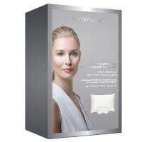 Iluminage Skin Rejuvenating Pillowcase and Eye Mask - White