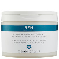 REN Skincare Atlantic Kelp and Magnesium Salt Anti-Fatigue Exfoliating Body Scrub 330ml