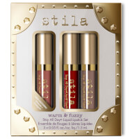 Stila Warm & Fuzzy - Stay All Day Liquid Lipstick Set (Worth £24)