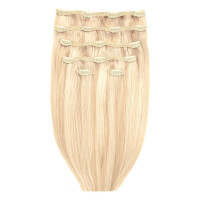 """Beauty Works 18"""" Double Hair Set Clip-In Extensions - LA Blonde 613/24"""