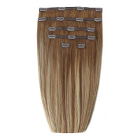 "Beauty Works 18"" Double Hair Set Clip-In Extensions - Biscuit Balayage 4/27/10"