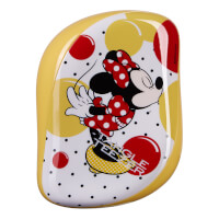 Tangle Teezer Compact Styler Hairbrush - Disney Minnie Mouse Sunshine Yellow