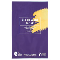 Vitamasques Black Gold Dust Sheet Mask 20ml
