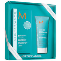 Moroccanoil Treatment - Light 125ml with Light Hydrating Mask 75ml (Worth £42.80)