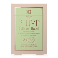 PIXI PLUMP Collagen Boost Sheet Mask (Pack of 3)