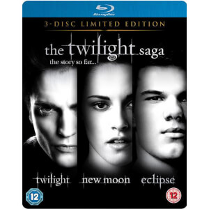 The Twilight Saga - Triple Pack Limited Edition Steelbook