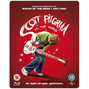 Scott Pilgrim Vs. The World: Steelbook Special Edition (Includes Blu-Ray and DVD Copy)