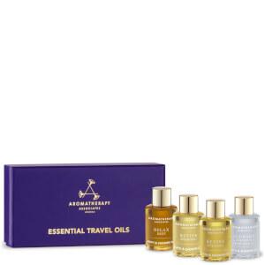 Aromatherapy Associates Essential Travel Oils - 4 x 7.5ml