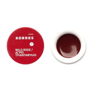 KORRES Natural Wild Rose Lip Butter 6g