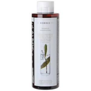 Shampoo antiforfora e cute secca all'alloro ed echinacea di KORRES (250ml)