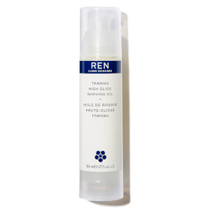 REN Clean Skincare Tamanu High Glide Shaving Oil 50ml