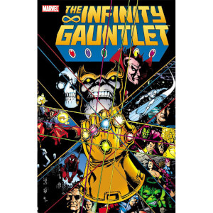 Infinity Gauntlet Graphic Novel by Jim Starlin (Paperback)