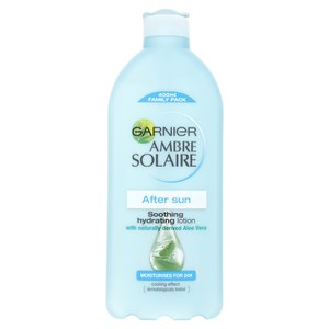 Loción Aftersun Soother de Garnier Ambre Solaire (200 ml)