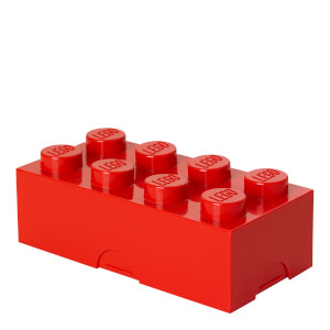 LEGO Lunch Box - Bright Red
